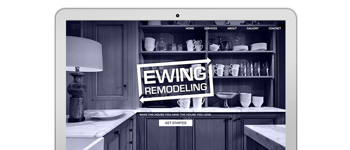Ewing Remodeling Brand and Website